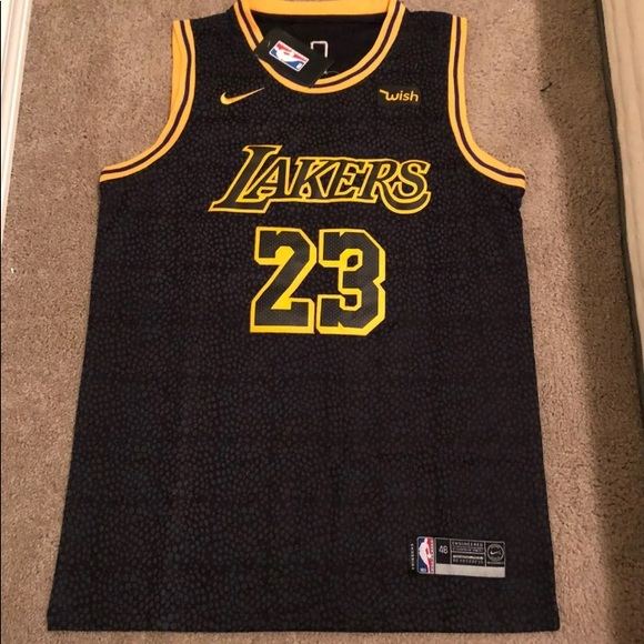 low priced 4e61c fec5a ‼️ Lebron James Lakers Jersey - Black NWT NWT